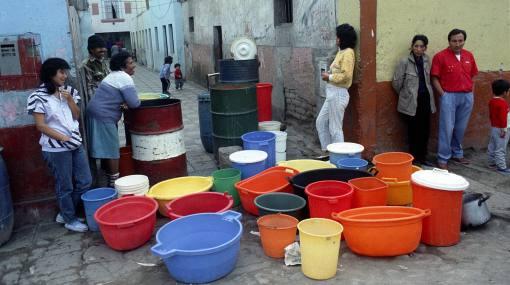 escasez agua Peru